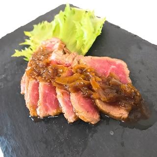 安いお肉も!キウイで柔らかローストビーフ