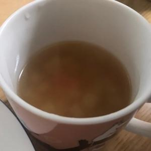 大根、人参、玉ねぎのコンソメスープ