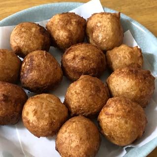 卵・牛乳不使用◆もちもち&ふわふわ〜豆腐ドーナツ