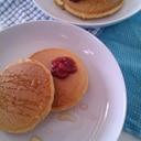 *☆親子食☆*全粒粉のパンケーキ
