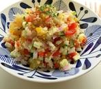 野菜とキヌアのカラフルサラダ