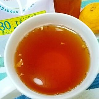 ホッと☆柚子ジンジャージャスミン茶♪