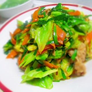 シンプルに☆回鍋肉(春キャベツ)