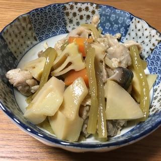 筍とフキの炒め煮