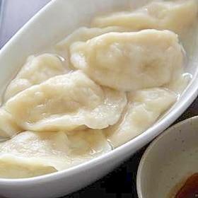 中国からの留学生に教えてもらった『水餃子』