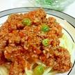 懐かしい給食のミートスパゲティ
