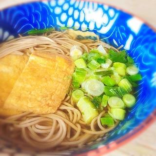 関西風♩お蕎麦