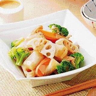 楽天マート☆根菜の温サラダ 練りごまソース