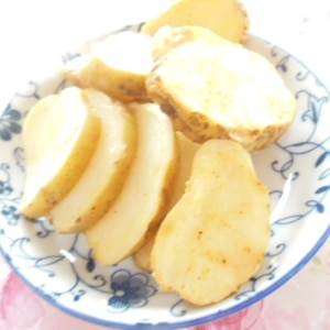 揚げないフライドポテト【レンジ+フライパン】