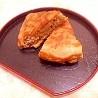 ふんわり磯の香り♪蕎麦粉と米粉の和風パンケーキ