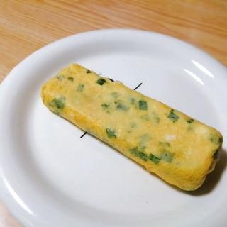 ニラの卵焼き