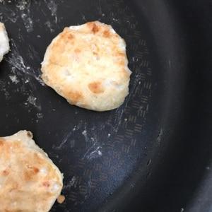 【離乳食中期】納豆と豆腐のおやき