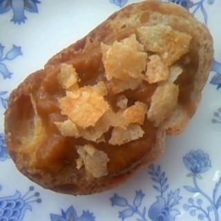 カレー&ポテチ☆フランスパン