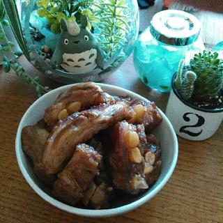 糖質制限★ホロッとうまうま低糖質★豚軟骨の角煮風♡