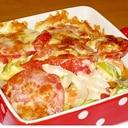 野菜もたっぷり取れて簡単♪鮭と野菜のトースター焼き