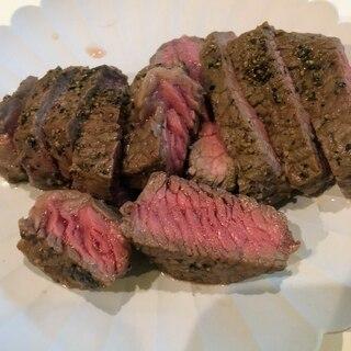 お家で本格的なステーキの焼き方☆