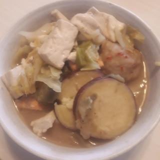 味噌鍋❣️ホクホクさつま芋