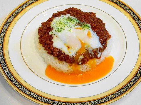 老舗の洋食屋さん味が~簡単に出来る!キーマカレー