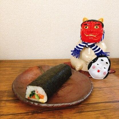 具材たっぷりで美味しそうです! 明日かぶりつきたいと思います。 次は飾り寿司も挑戦したいです。