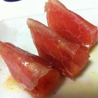 生ハムトマト