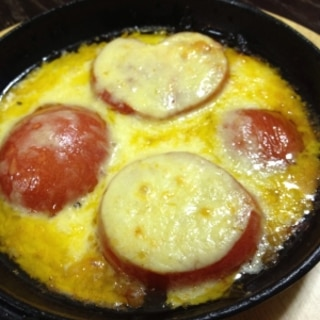 焼きトマト チーズトッピング