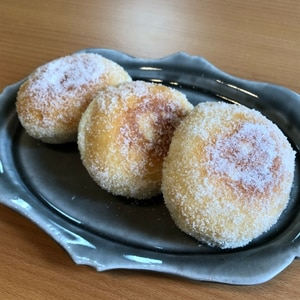 ふわっふわ、カリカリ☆あんドーナツ