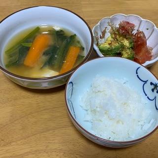 食欲がないけど野菜を食べたい!定食!