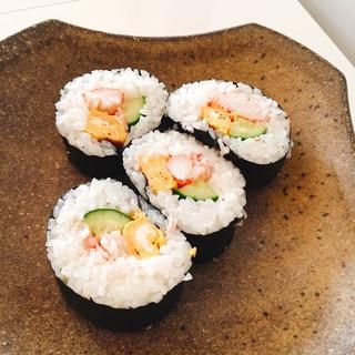 ラップで簡単巻き寿司