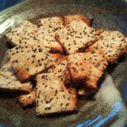 電子レンジのクッキーオート機能でも2度焼きで作れました。何万回もリピしそうですv