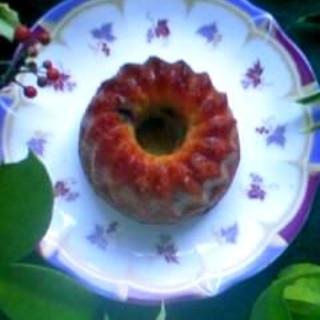 ジャムでしっとりフルーツケーキ