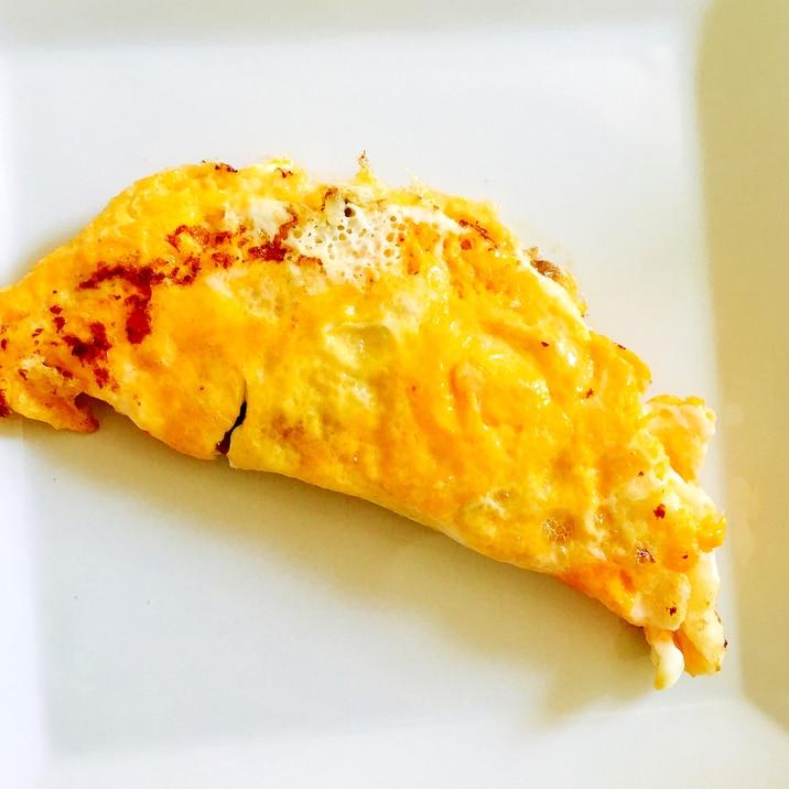 チーズ納豆オムレツ