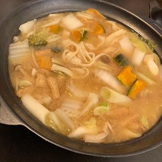 野菜たっぷりほうとう♡