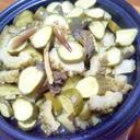 夏野菜たっぷりホットサラダ