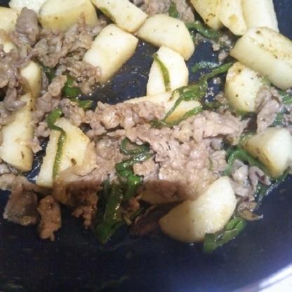 長芋が食べたかったので作ってみました!牛肉とバッチリあって美味しかったです!ありがとうございます!