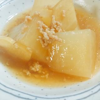 体が温まる、生姜が香るあんかけ大根
