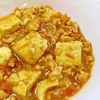 満腹感充分★豆腐カレー