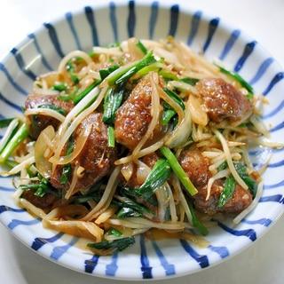 鶏レバーで作る★レバニラ炒め