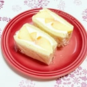 フレッシュな白桃で♪贅沢フルーツサンド