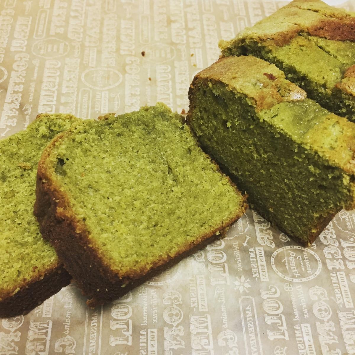 抹茶 パウンド ケーキ