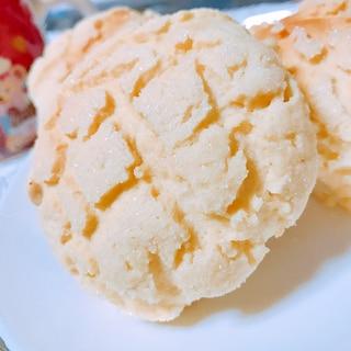 HBで作るザクザクメロンパン