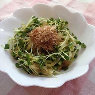 かいわれ大根と玉ねぎの和風サラダ♪