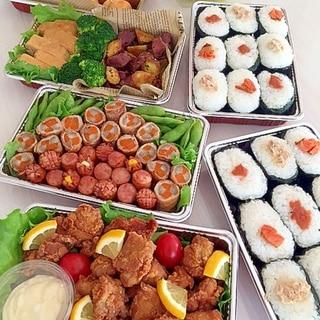 簡単なものばかり★運動会のお弁当★