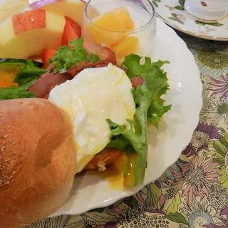 エッグベネクト★オランディーズソース