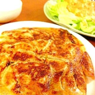 秘密コツ有!超ジューシィ&パリパリ羽餃子