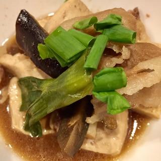 豚バラと豆腐のすき煮