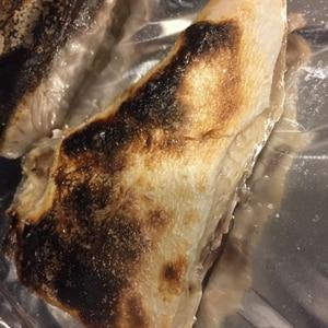 フライパンで簡単ぶりかま塩焼き♡