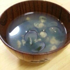 しじみと生姜のスープ