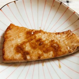 超簡単☆メバチマグロのステーキ