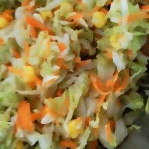 有機キャベツのコールスローサラダ