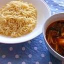 インスタントラーメンDEざる中華つけ麺♥